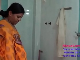 desi aunty strip tease in shower 720p