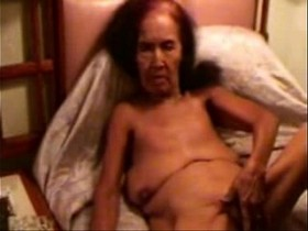 Pervert granny smoking ad masturbating. Amateur