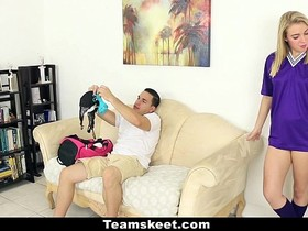 CFNMTeens - Soccer Babe Gets Fucked With Her Panties On