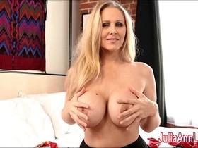 Sexy Milf Julia Ann is a Stocking Slut!