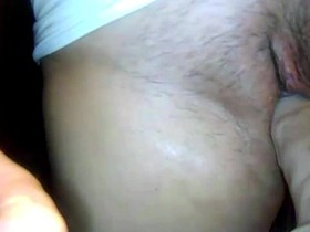 Mom always keeps dildo in her big pussy