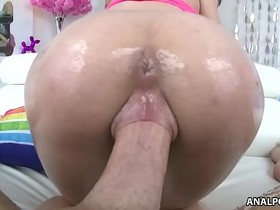 Fresh young pussy filled with big dick - Lily Jordan